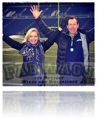 Kelly McLoughlin Seahawks Peter McLoughlin wife pics
