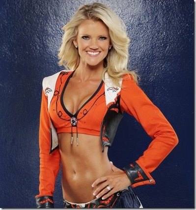 Kendal Denver Broncos Cheerleader