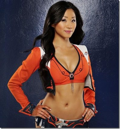 Kisato Denver Broncos Cheerleader