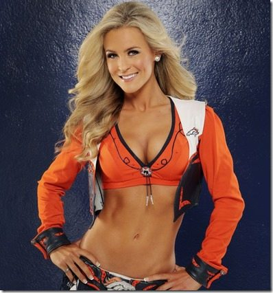 Lauren Denver Broncos Cheerleader