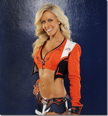 Lindsey Denver Broncos Cheerleader