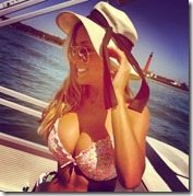 Lindsey Duke Blake Bortles girlfriend photo