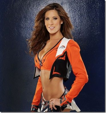 Lindy Denver Broncos Cheerleader