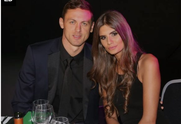 Aleksandra Matic Serbian Soccer Player Nemanja Matic's Wife