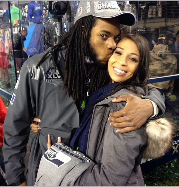 sherman dating The girlfriend of richard sherman, ashley moss, was pretty excited about her boyfriend starting the nfl season in the seahawks-packers opener.