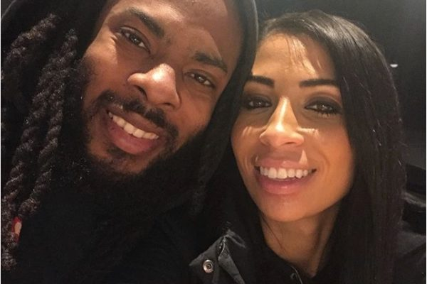 Richard Sherman's Girlfriend Ashley Moss