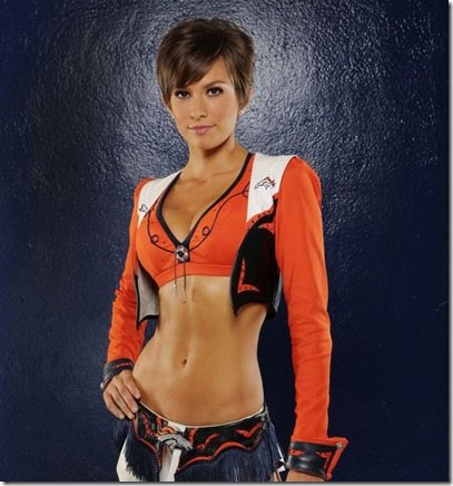 Sam Denver Broncos Cheerleader