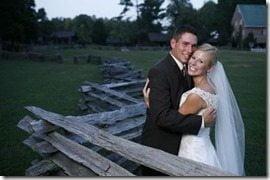 Scott Stallings Jennifer white wedding pics
