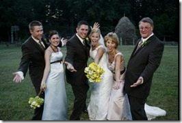 Scott Stallings Jennifer white wedding