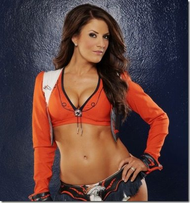 Tara Denver Broncos Cheerleader
