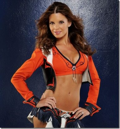 Toni D Denver Broncos Cheerleader