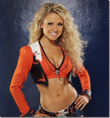 Toni G Denver Broncos Cheerleader