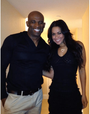 Who is deion sanders dating