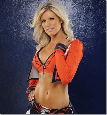 Tristan Denver Broncos Cheerleader