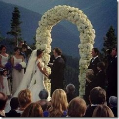 Wes Welker Anna Burns wedding pic