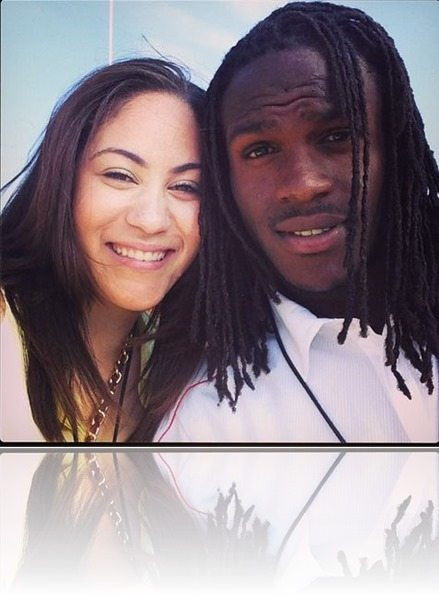 Whitney golden charles Jamaal charles wife-photos