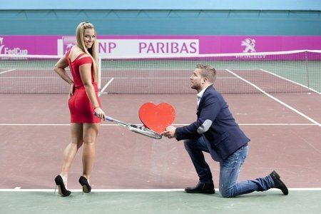 Dominika cibulkova engaged