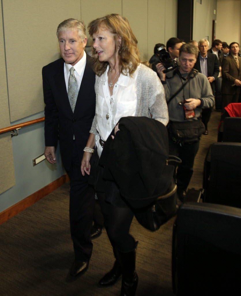 Glena Goranson Seahawks Coach Pete Carrolls Wife Wikibio