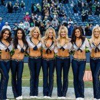 Seattle Seahawks Cheerleaders Sea Gals Picture 200x200