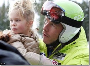 Bode Miller daughter Neesyn picture