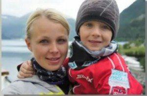 Eric Frenzel girlfriend Laura Schwanitz son philipp pic