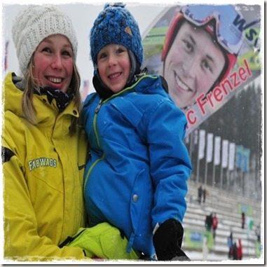 Eric Frenzel girlfriend Laura Schwanitz