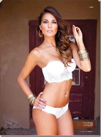 Javi Garcia Girlfriend Elena Gomez