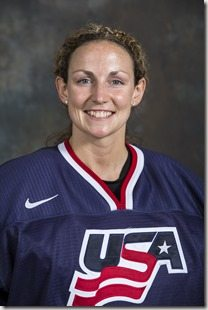 On Monday June 24 USA Womens National Hockey team selection camp in Lake Placid NY, annonced 25 players as potential Olympians for the 2014 Olympic Winter Games in Sochi Russia  photo by Nancie Battaglia