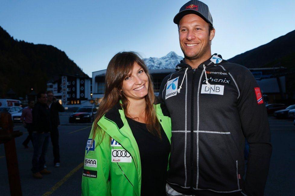 Ski racer Aksel Lund Svindal- US Olympic Ski Racer Julia Mancuso's Boyfriend
