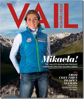 Mikaela Shifring vail magazine interview