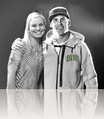 Nick Baumgartner girlfriend Tanya Rad pic