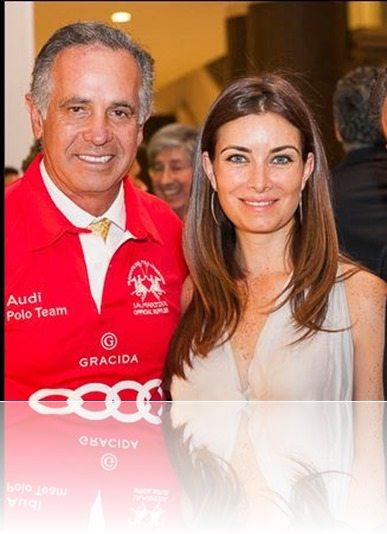 Polo player Carlos Gracida girlfriend Monica Sierra picture