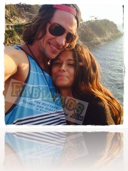 Rory Bushfield girlfriend Macarena Estecha Milossevich pic