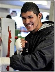 boxer Oscar el fantasma Gonzalez wife Magaly Gozalez pic