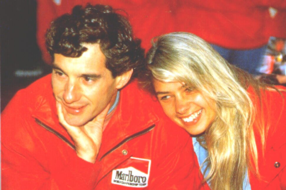 Ayrton Senna girlfriend 1994