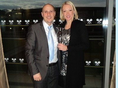 Nino Severino- British Tennis player Elena Baltacha's Husband