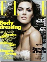 Hilary Rhoda Elle Magazine