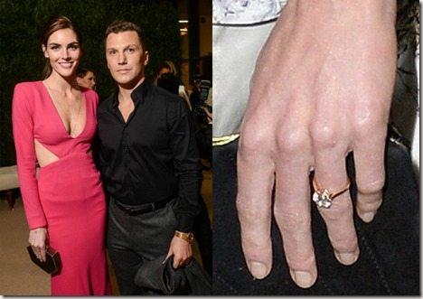 Hilary Rhoda Sean Avery engaged