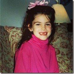Hilary Rhoda younger years pics