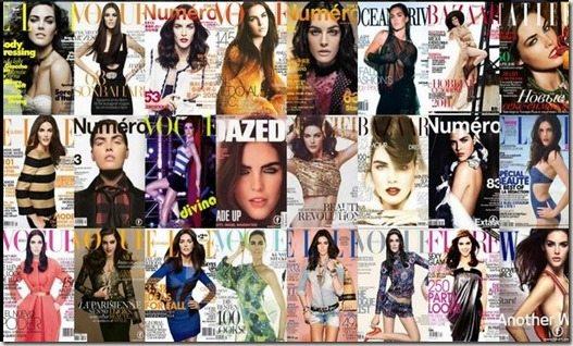 Hilary rhoda magazine covers