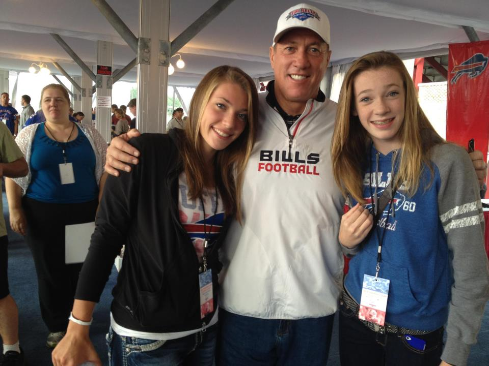 Jim Kelly daughters