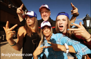 Jim Kelly family