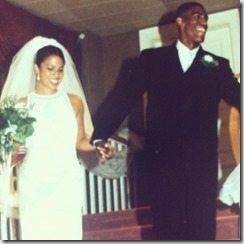 Kevin Ollie Stephanie Ollie wedding pics