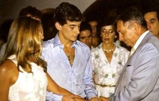 Lilian de Vasconcelos Souza ayrton senna wedding