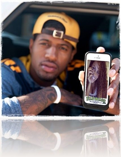Paul George dating Callie Rivers
