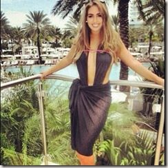 Paula Kalini Milos Raonic girlfriend photo