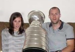Natalie Peverley- NHL player Rich Peverley's Wife