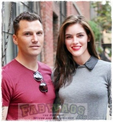Model Hilary Rhoda- NHL Player/ DWTS Contestant Sean Avery's Girlfriend/ Fiancee