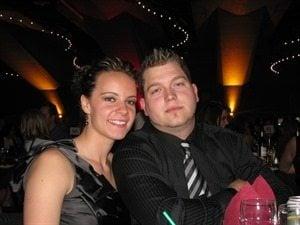 Alex Ritchie- Canadian Ice Hockey Goalie Shannon Szabados' Husband