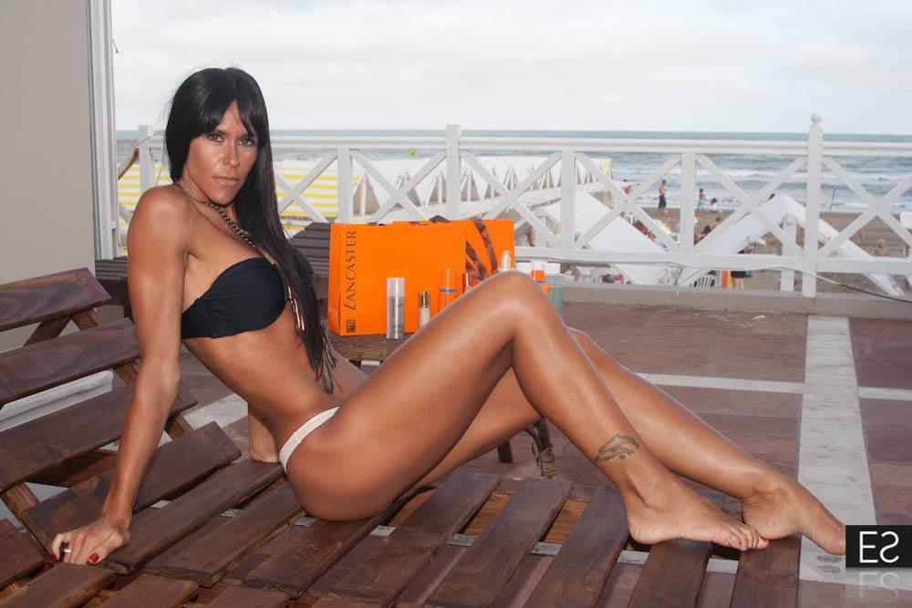 Carolina baldini sexy back